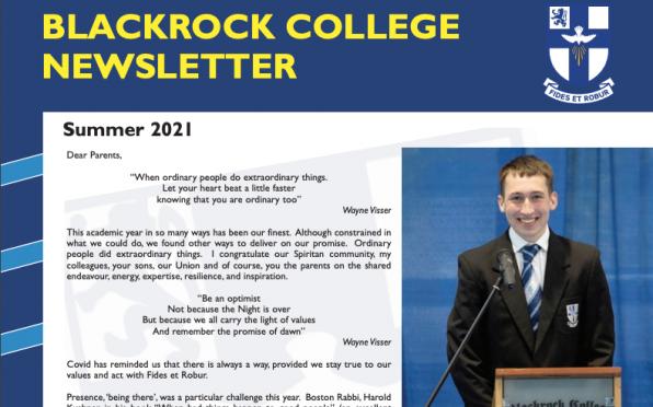 Freddie Noonan (Class of 2021) This year's Valedictorian
