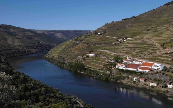 Quinta on the beautiful Douro river