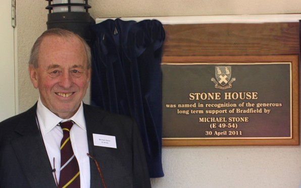 Michael opening Stone House in April 2011
