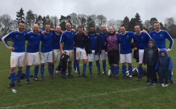 OB Vets Football Team 2018