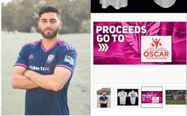 Photo Credit of Marco Tormenta FC and 32 Auctions.com