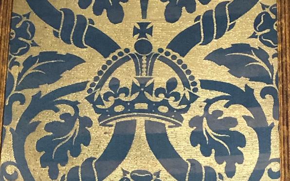 Coronation brocatelle