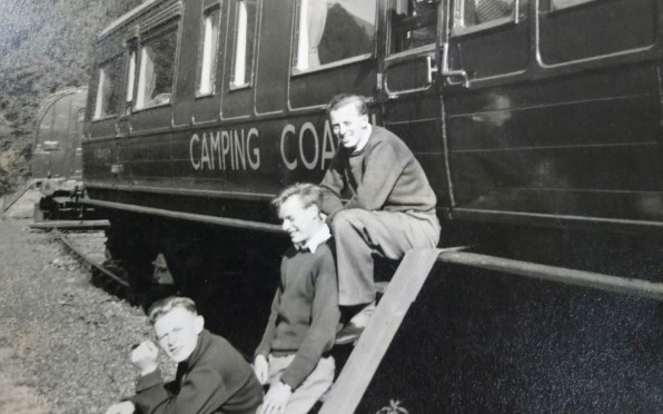 Coniston 1954 - Camping coaches