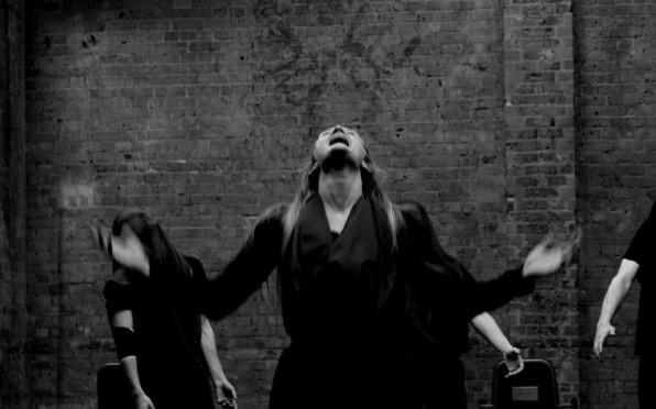 Eve Niker, Women of Troy Rehearsal, RADA