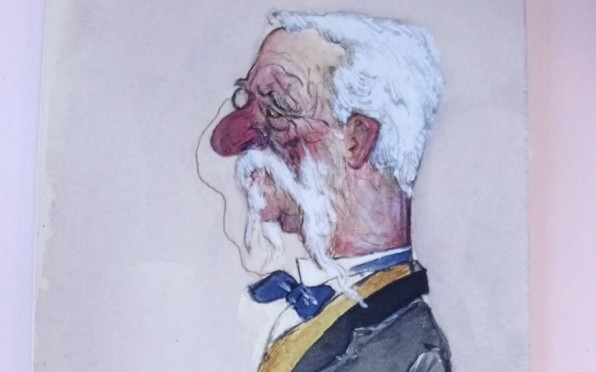 Rt. Hon. Sir Richard Temple, Bart. by GM Hamilton, 1898