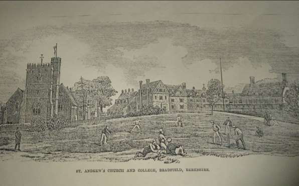 St Andrew's College 1865 from the Illustrated London News