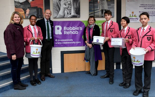 Brambletye Fundraising 2019/2020 for Robbie's Rehab