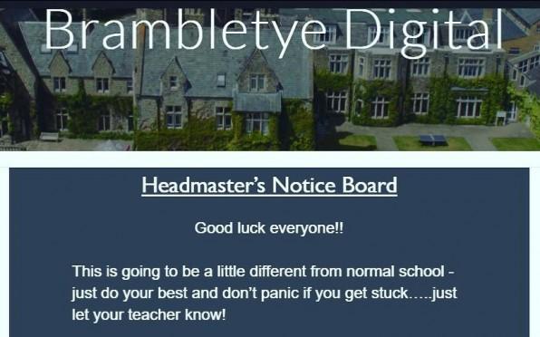 Brambletye lessons go digital