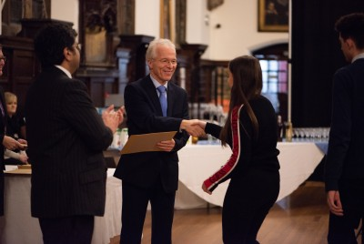 Gallery - Presentation of A Level Certificates