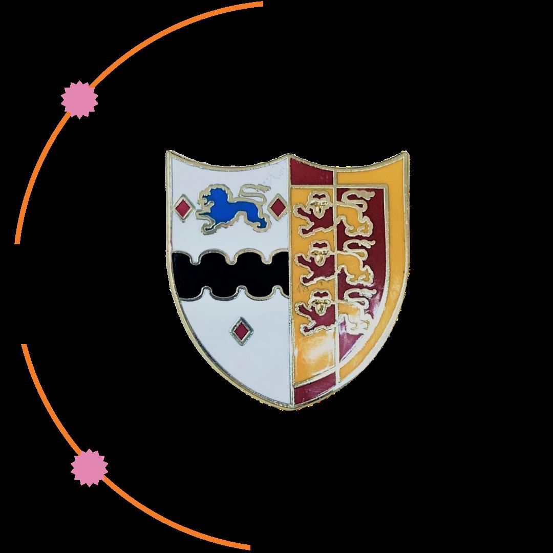 Enamelled Crested Badge