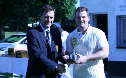 Max Porter (10092) with the Cup