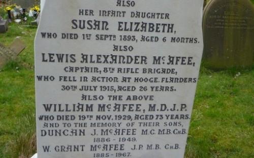 McAfee, Lewis Alexander (796)