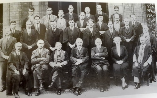 Margaret Boal, Art Mistress from 1915-1943 (pictured second in on the right front row)