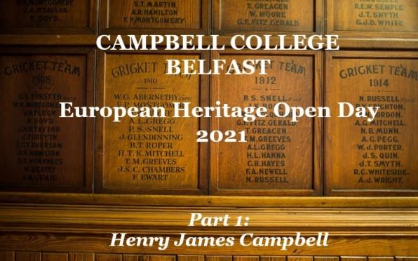 European Heritage Open Day 2021: Part 1