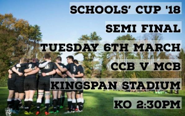 Schools' Cup 2018 Semi Final