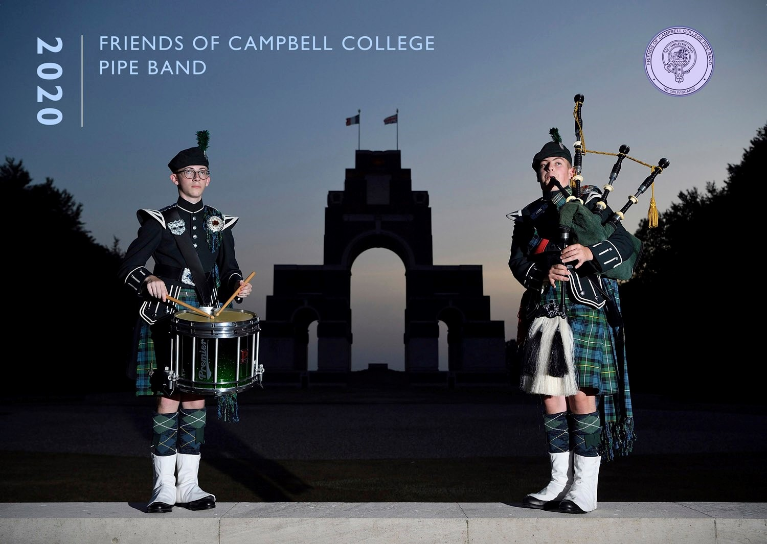 Friends of the Pipe Band - Calendar 2020