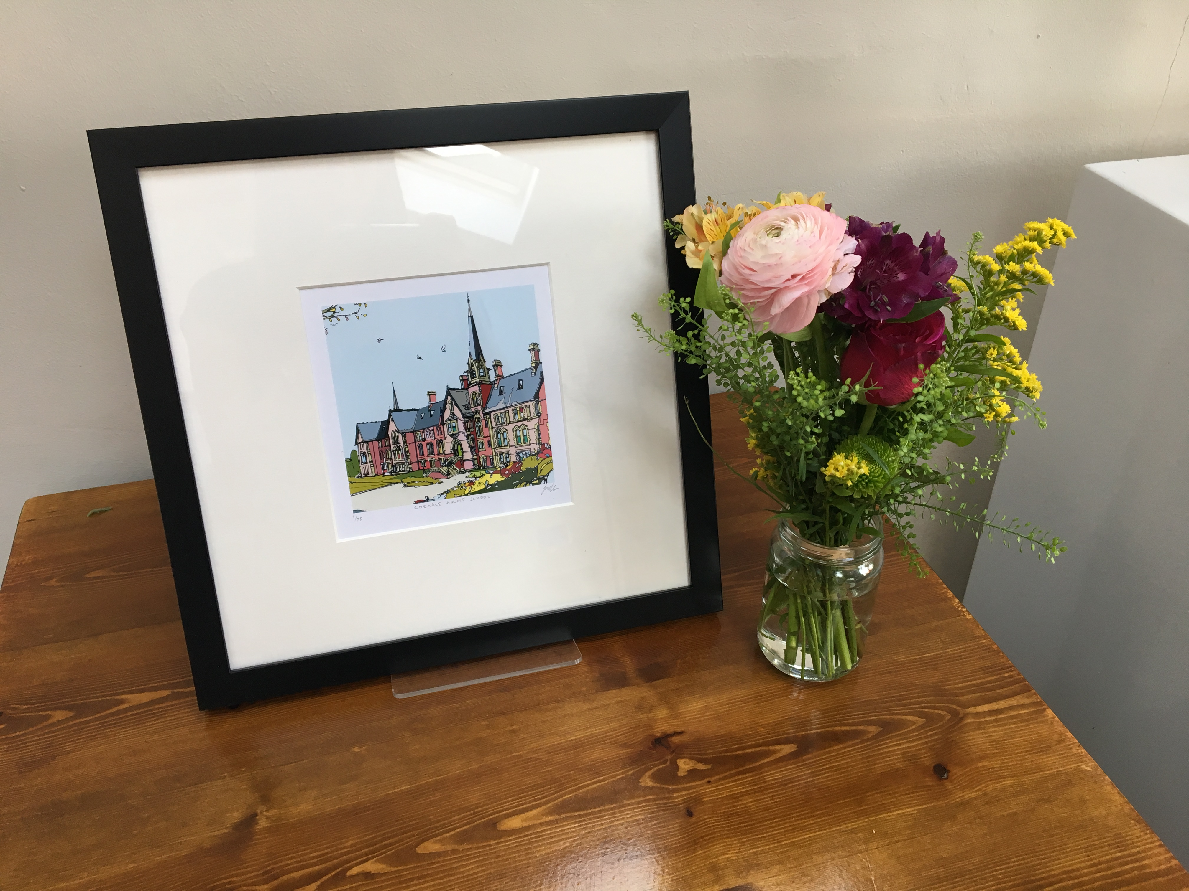 Limited Edition Print: The Main Building