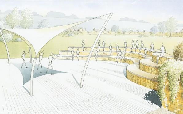 Illustration of the Amphitheatre