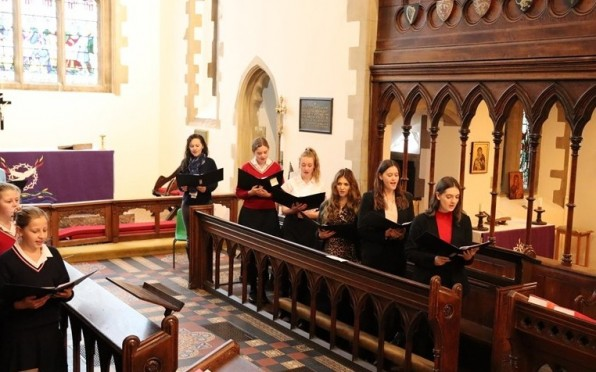 Christmas Carol service 2020 - Choir