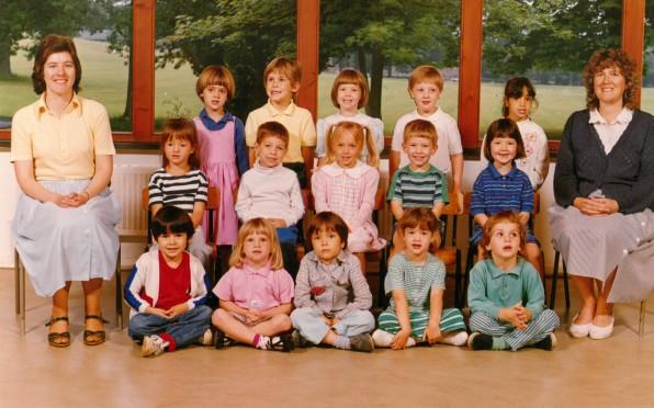 Mrs Longman's PPN Class 1988
