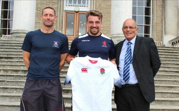 story image for Alumni Receives First England Cap