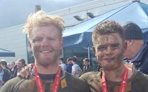 Ben Huntley and Elliot Lamble