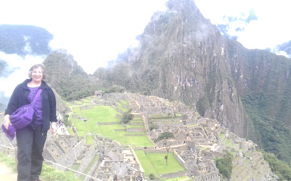 2017 at Machu Picchu, Inca land..studied by so many with me.