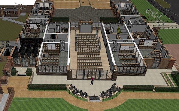Stable Court 3D plan