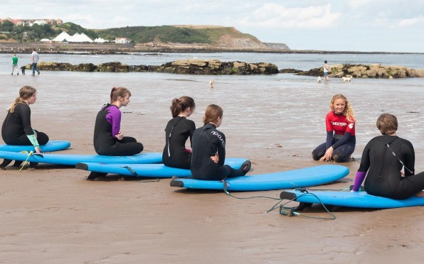 Ruby's Rippers Girl's Surf Academy