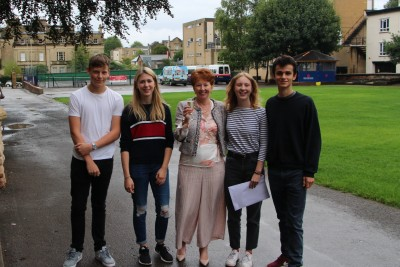 Gallery - A Level Results Day 2018