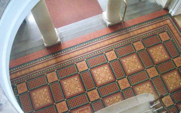 Beautiful tiled floor