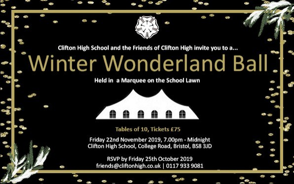 Join us at the Winter Wonderland Ball