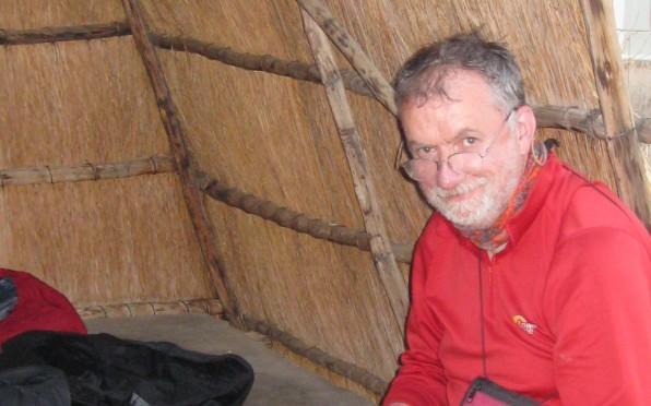 Dr Geoff Hallett, Namibia 2012
