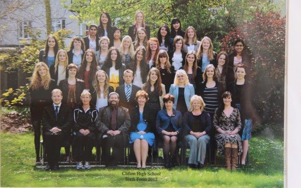 Official Photograph: Sixth Form 2012
