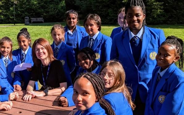 Coloma welcomes new Headteacher, Elizabeth Englefield