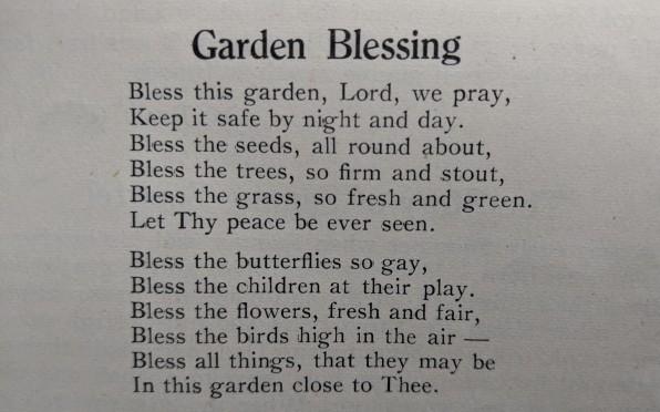 Poem written by Jean Scopes, 1946, Form 1A