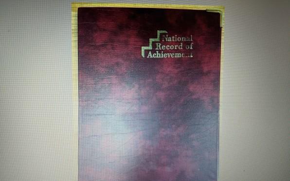 Record of Achievement Folder