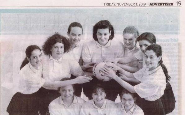 1992 Netball team