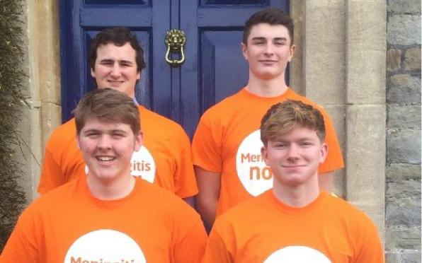 Colston's Sixth former's raising money for Meningitis Now!