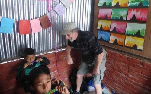 Bob Ross in Nepal