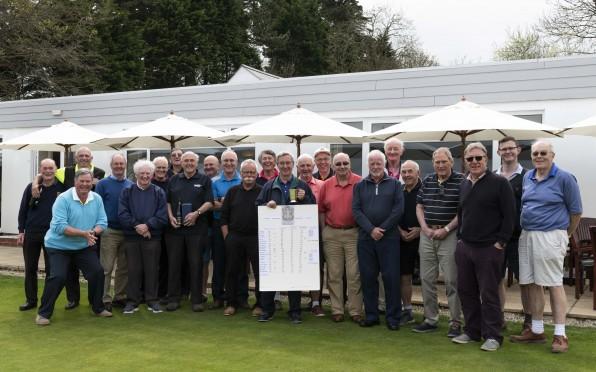 The gang at the OC's Golf Society Weekend at Carlyon Bay 20th-22nd April 2018