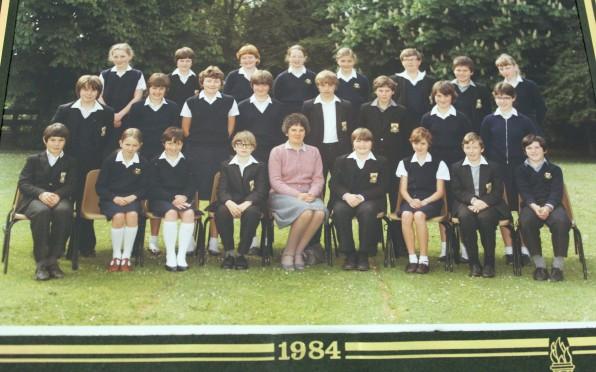 Mrs Marsh Class 1984