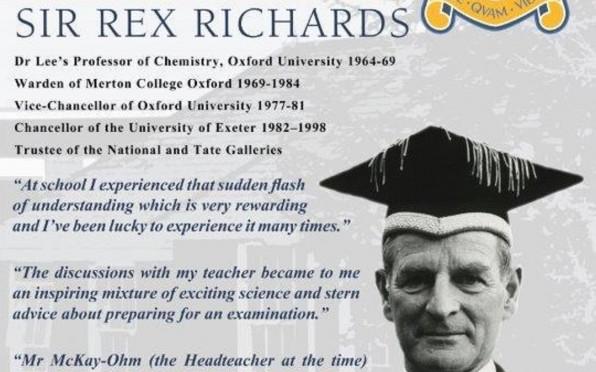 Alumni Poster Sir Rex Richrds