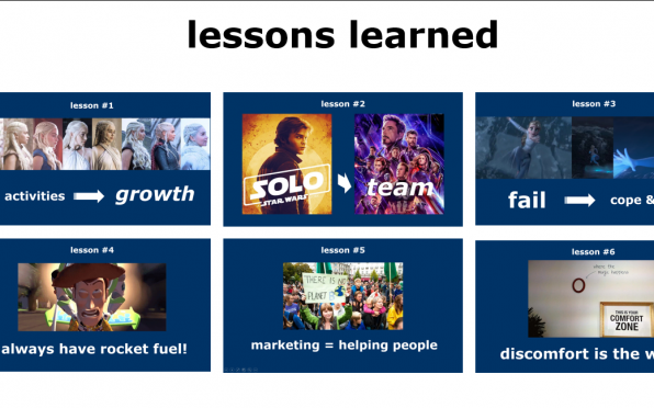 Charlotte's lessons learned so far