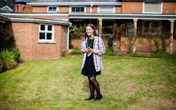 Bryanna returned to school for a week for work experience