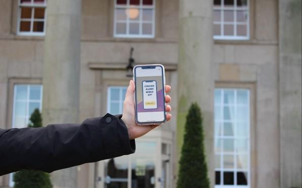 The 'Concord College Alumni Network' mobile app