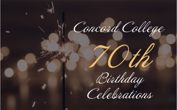 An Invitation to Concords 70th Birthday Weekend