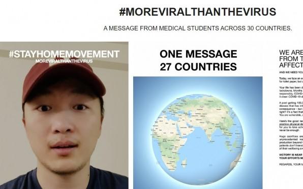 #MOREVIRALTHANTHEVIRUS