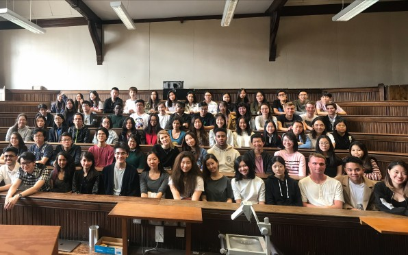 Concord's Sixth Formers got a feel for undergraduate life in Cambridge from Concord Alumni.