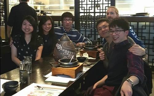 Tracey Harjatanaya, Yong Sul Won, Handi Salim, Yan Mei Goh, Zeck Wu and Stefan Leistung Bauer